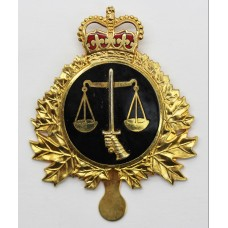 Canadian Forces Legal Branch Cap Badge