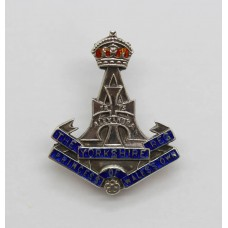 Yorkshire Regiment (Green Howards) Silver & Enamel Sweetheart