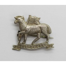 The Queen's (Royal West Surrey) Regiment Sterling Silver Sweetheart Brooch