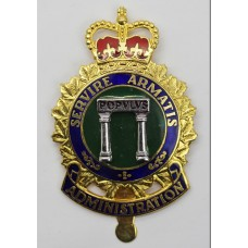 Canadian Forces Administration Branch Cap Badge