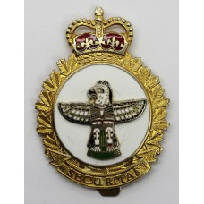 Canadian Forces Security Branch Cap Badge