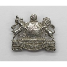 WWI Manchester Regiment Sterling Silver Sweetheart Brooch