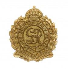 George V Royal Engineers Sweetheart Brooch