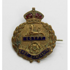 East Lancashire Regiment Enamelled Sweetheart Brooch