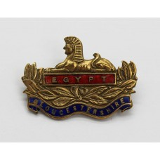 Gloucestershire Regiment Enamelled Sweetheart Brooch