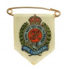 George V Royal Engineers Fund Raisers Charity Day Badge