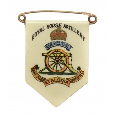 Royal Horse Artillery Fund Raisers Charity Flag Day Badge