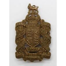 King Edward's Horse Cap Badge - King's Crown