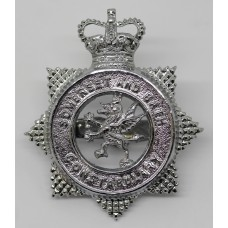Somerset & Bath Constabulary Cap Badge - Queen's Crown