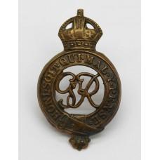 George VI Household Cavalry Cap Badge
