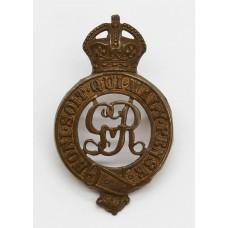 George V Household Cavalry Cap Badge
