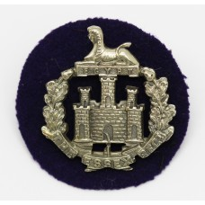 Essex Regiment Officer's Silver Plated Cap Badge