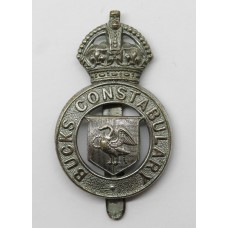 Buckinghamshire Constabulary Cap Badge - King's Crown