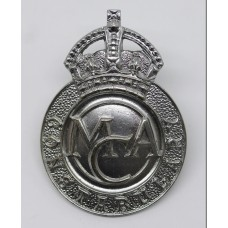 Ministry of Civil Aviation Constabulary Cap Badge - King's Crown