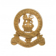 14th King's Hussars Collar Badge
