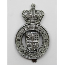 Bournemouth Police Cap Badge - Queen's Crown
