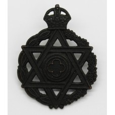 Royal Army Chaplain's Department Jewish Chaplain Cap Badge - King's Crown