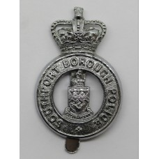 Southport Borough Police Cap Badge - Queen's Crown