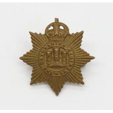 Devonshire Regiment Collar Badge - King's Crown