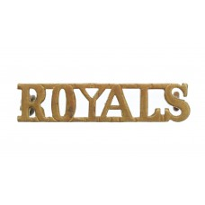 1st Royal Dragoons (ROYALS) Shoulder Title