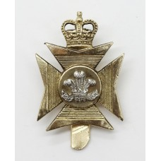 Royal Wiltshire Territorials Anodised (Staybrite) Cap Badge