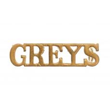 Royal Scots Greys (GREYS) Shoulder Title