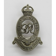 George VI Royal Horse Artillery Cap Badge