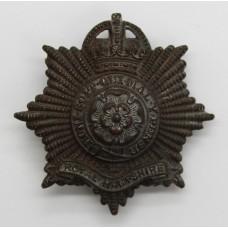 Hampshire Regiment Officer's Service Dress Cap Badge - King's Crown