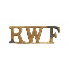 Royal Welsh Fusiliers (R.W.F.) Shoulder Title