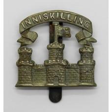 Scarce Royal Inniskilling Fusiliers Cap Badge (c.1926 - 34)
