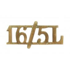 16th/5th Queen's Lancers (16/5L) Shoulder Title