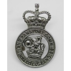 British Transport Commission Police Cap Badge - Queen's Crown