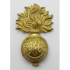 Canadian Les Fusiliers Mont Royal Cap Badge - Queen's Crown