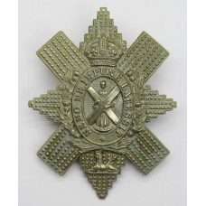Black Watch (The Royal Highlanders) Cap Badge - King's Crown