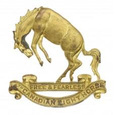 14th Canadian Light Horse Cap Badge