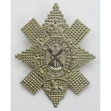 Black Watch (The Royal Highlanders) Cap Badge - Queen's Crown