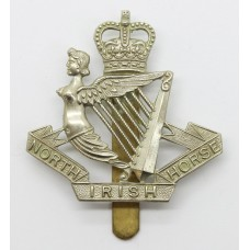North Irish Horse Cap Badge - Queen' Crown