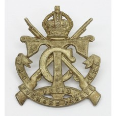 South African Transvaal Cadets Cap Badge - King's Crown