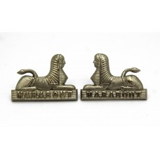 Pair of Dorset Regiment Collar Badges