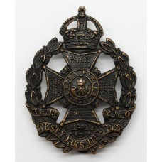7th/8th Bn. (Leeds Rifles) West Yorkshire Regiment Cap Badge