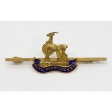 Royal Warwickshire Regiment Sweetheart Brooch