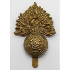 Royal Fusiliers Cap Badge - King's Crown