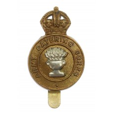 Army Catering Corps Cap Badge - King's Crown