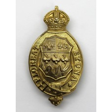 Eton College O.T.C. Cap Badge - King's Crown