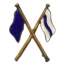 British Army Signallers Enamelled Arm Badge