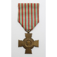 French WW1 Croix du Combattant Cross Medal