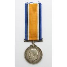 WW1 British War Medal - T. Owen, Tr. Royal Navy Reserve