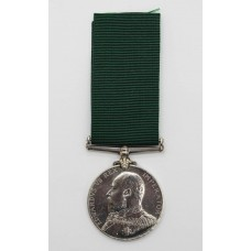 Edward VII Royal Naval Reserve Long Service & Good Conduct Me