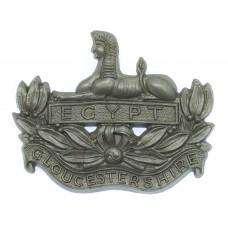 Gloucestershire Regiment WW2 Plastic Economy Cap Badge