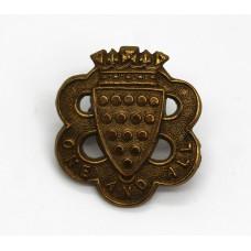 Duke of Cornwall's Light Infantry Collar Badge